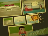 Fragment of Dejavu タイムスリップして過去の飛行機事故を防ぐゲーム