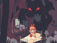 Fear Less! 悪夢の中で女の子が死神から逃げるアクションゲーム