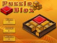 Puzzle Blox 赤いブロックを取り出すパズルゲーム