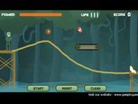 Training Night 道を描いて兵士を誘導するゲーム