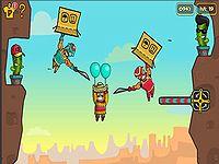 Amigo Pancho 4: Travel 風船おじさんを空に飛ばすゲーム