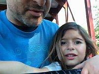 生まれて初めてジェットコースターに乗った幼女の反応