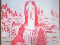 嫁がホワイトボード買ってきたんで、毎日ペニスの絵を描いてみたよ