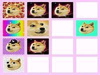 DOGE2048 ワンコの柄合わせパズルゲーム