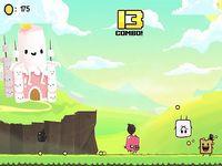 Super Marshmallow Kingdom トースト君が落下物を避けまくるゲーム