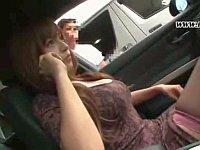 隣の車の助手席に巨乳ちゃんがいたので思わずレイプしたった