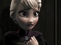 「アナと雪の女王」をホラーっぽくしたらこうなった