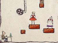 Aging Hero 妄想の邪魔をするおばさんをやっつけるゲーム