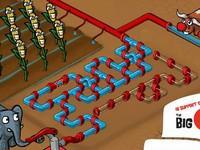 Let It Flow パイプで水を供給するパズルゲーム