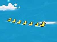 Duck Tub Battle お風呂の中の戦い!アヒルシューティングゲーム