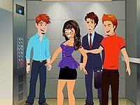 Naughty Elevator ロビーやエレベーターで美女に悪戯ゲーム