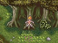 CHRONO TRIGGER Adventures マールが森の中で犯される獣姦エロフラッシュ