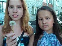 ロシアの少女によるタンポポを使ったイタズラが酷い