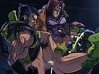 X-MEN NIGHTFALL 男三人が乱交するエロフラッシュ(ゲイネタ注意)
