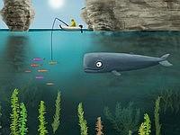 Deep and Blue 捕獲された雌クジラを助けに行くクジラのゲーム