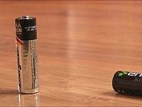 乾電池が切れているかどうか一瞬で調べる方法