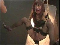 【SM】女を縛って吊るして叩きまくりの鬼畜プレイしてみた