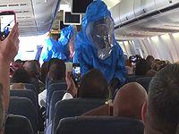 「俺はエボラだ!」 飛行機内で冗談言ったらえらいことになったお・・