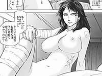寄生獣の田村玲子と宇田さんがセクロスするエロ漫画