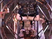 超大型マシンバイブに拘束されてアクメ地獄に堕ちる巨乳M女