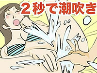 素人でも潮吹きを連発する「Sスポット」の刺激方法