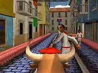 Pamplona Smash サン・フェルミン祭の牛追いゲーム