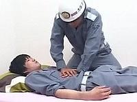 人工呼吸のアドバイスを求めたら告白されて掘られてしまった後輩(ゲイネタ注意)