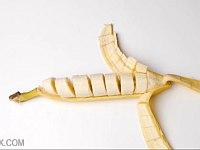 宴会で使える!?バナナを剥いたら中だけが綺麗に切断されているトリック