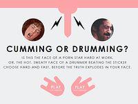 【10問クイズ】 この顔はドラムを叩いてる?それともSEXしてる?