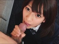 18歳の成宮ルリが女子校生姿でぶっかけられ撮影後に号泣してしまう