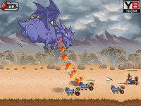 Fire & Might ファイヤードラゴンの人類駆逐シューティングゲーム