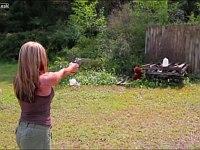 世界最強のリボルバー銃を撃ちまくってる総集編動画
