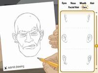 VELMA VISION 犯人の似顔絵を作成する脳トレゲーム