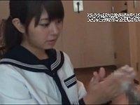 女子校生が男の自宅で「ちんぽ洗い屋」のアルバイト