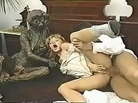 宇宙からやってきたE.T.が人間とセックス交流するマジキチポルノ