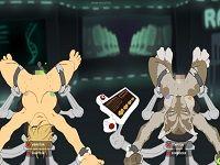 Rack 拘束した人間と獣人さんをイかせ続けるSMエロフラッシュ