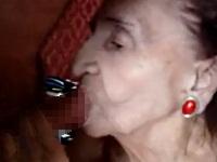 はむはむとチ●コを咥えるおばあちゃん