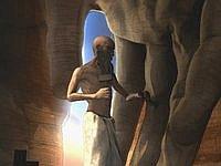【アニメ】たった一人で黙々と銅像を掘り続ける男「Bet She'an」
