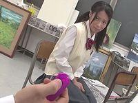 なにをされても抵抗できない内気な女子校生を部活中に痴漢レイプ
