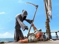 【3DCGアニメ】瀕死の船員の前に現れた死神「Death Sails」