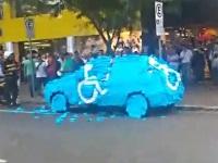 健常者が障がい者スペースに車を停めた結果......