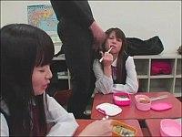 ブッカケられるのが日常な女子●学生姉妹