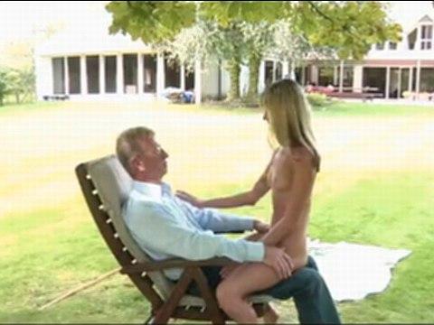 お爺ちゃんと屋外でセックスするジーナガーソンちゃんが可愛すぎる