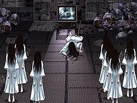 呪いのビデオ-人類滅亡計画! 貞子を労働させて全人類の滅亡をめざすクリッカーゲーム