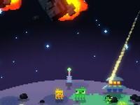 みどりのほし 隕石を爆破して惑星を緑化するゲーム