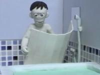 【アニメ】怖がりな男の入浴あるある「風呂」