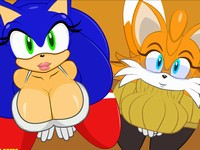 Sonic Transformed 2 女体化したソニックやテイルスとハメるエロフラッシュ