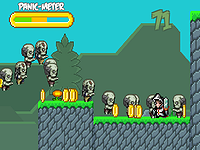 Zombie Panic!! ゾンビを狩りまくる爽快アクションゲーム
