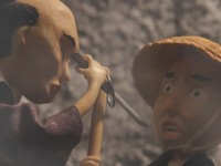 【アニメ】追い剝ぎで生計を立てていた夫婦の行く末「逆面 - SAKA MEN -」
