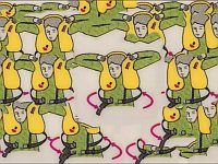 飛行機の安全確認案内を使って奇妙なダンスアニメを作ってみた